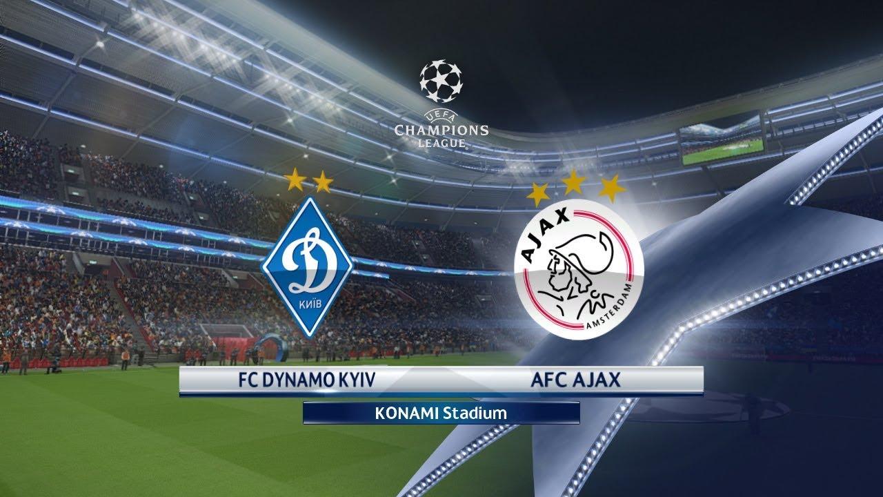 champions league fc dynamo kiev vs ajax 28  08  2018 - batmanstream
