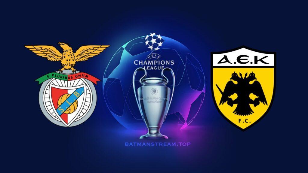 Benfica vs AEK Champions League