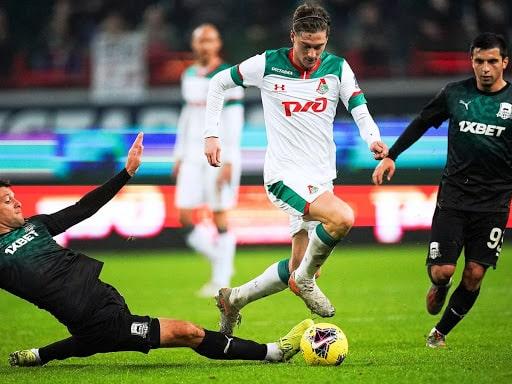 Lokomotiv Moscow vs FK Krasnodar Free Betting Tips